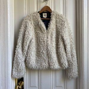 Vans Hammersmith White Faux Fur Jacket